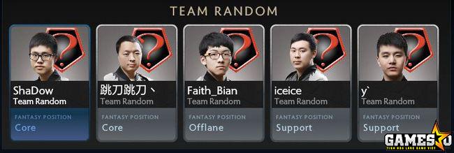 Player trong biên chế Team Random sẽ vẫn có thể tham gia các giải đấu Dota 2 chuyên nghiệp khác trên toàn cầu
