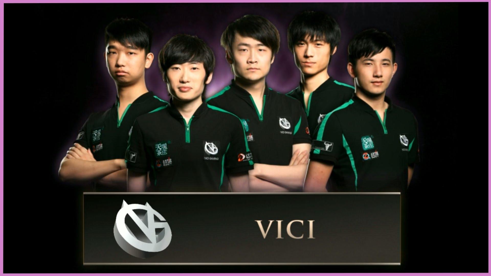 Đội hình VG giành ngôi Á quân TI4