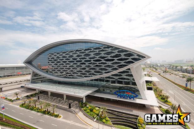 Khủng cảnh bên ngoài SM Mall of Asia Arena, địa điểm tổ chức giải đấu Dota 2 Manila Masters 2017