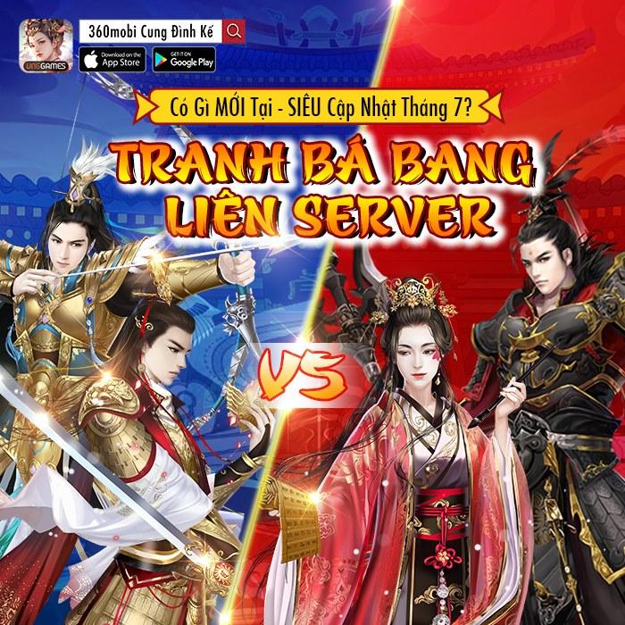 Tính năng Tranh bá bang liên server hứa hẹn đem đến nhiều kịch tính cho người chơi