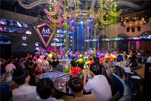 Đã có hơn 200 game thủ có mặt tại buổi offline của AxE khu vực Hồ Chí Minh