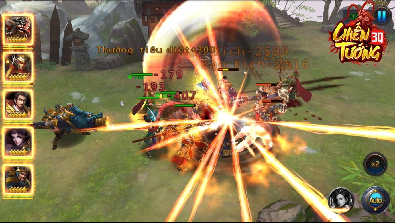 Engine mới giúp Chiến Tướng 3Q tạo nên những màn chiến đấu cực kì mãn nhãn