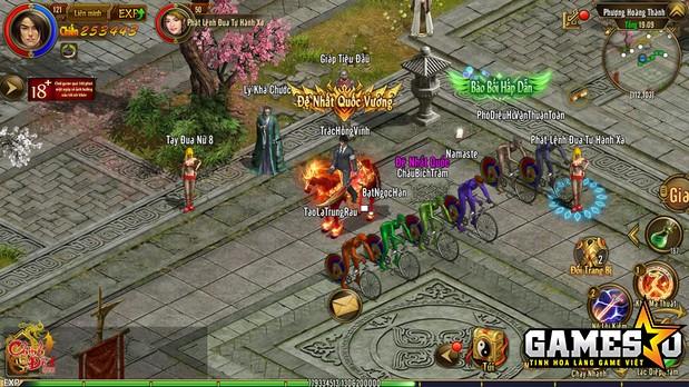 Người chơi Chinh Đồ 1 Mobile đăng ký tham gia hoạt động Đua xe đạp