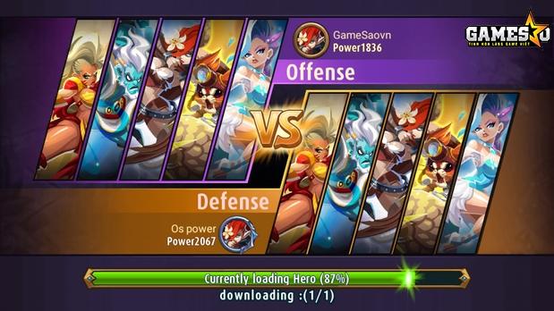 Trong PvP, hai người chơi sẽ chia ra thành các phe Tấn công và Phòng thủ