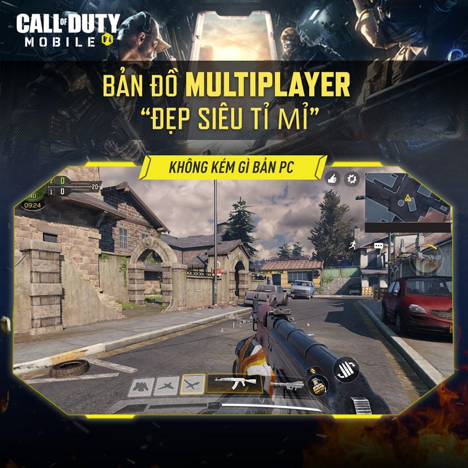 Call of Duty: Mobile VN – một phiên bản Việt Nam đang được kỳ vọng sẽ làm thỏa mãn người yêu mến dòng game bắn súng trong mùa hè 2020 này