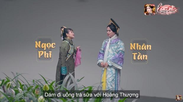 Trong một diễn biến khác, Nhân Tần được Hoàng Thượng rủ đi uống trà sữa bị Ngọc Phi phát hiện gây khó dễ