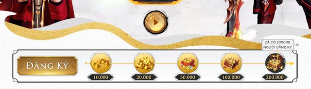 Trang Landing của Cửu Kiếm 3D đã full mốc 200.000 lượt báo danh