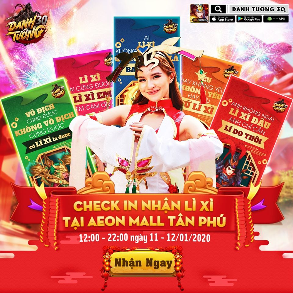 Tăng cơ hội nhận quà cùng Vòng quay may mắn tại Aeon Mall Tân Phú vào cuối tuần này