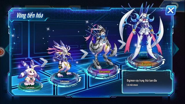 Ngỡ ngàng trước khả năng tiến hóa độc đáo của Digimon trong Digi Đại Chiến