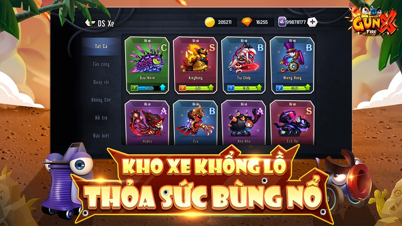 GunX: Fire - Tựa game thể hiện lòng yêu nước sâu sắc với tạo hình đậm chất Việt