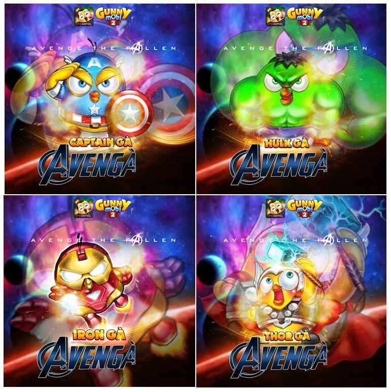 4/5 bộ trang phục Avengers đang được Gunner săn đón nồng nhiệt