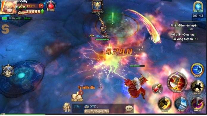 Hắc Ám Mobile – game PK cực mạnh, không nạp tiền vẫn lên MAX VIP đã cập bến làng game Việt - ảnh 3