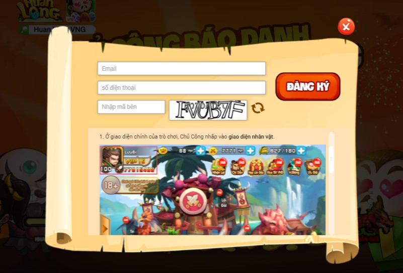 GameSao thân tặng 200 GiftCode Huấn Long VNG nhân dịp ra mắt - ảnh 2