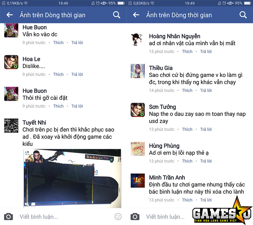 Kim Dung Quần Hiệp Truyện phải đón nhận không ít lời phàn nàn từ phía người chơi ngay trong ngày đầu tiên ra mắt chính thức