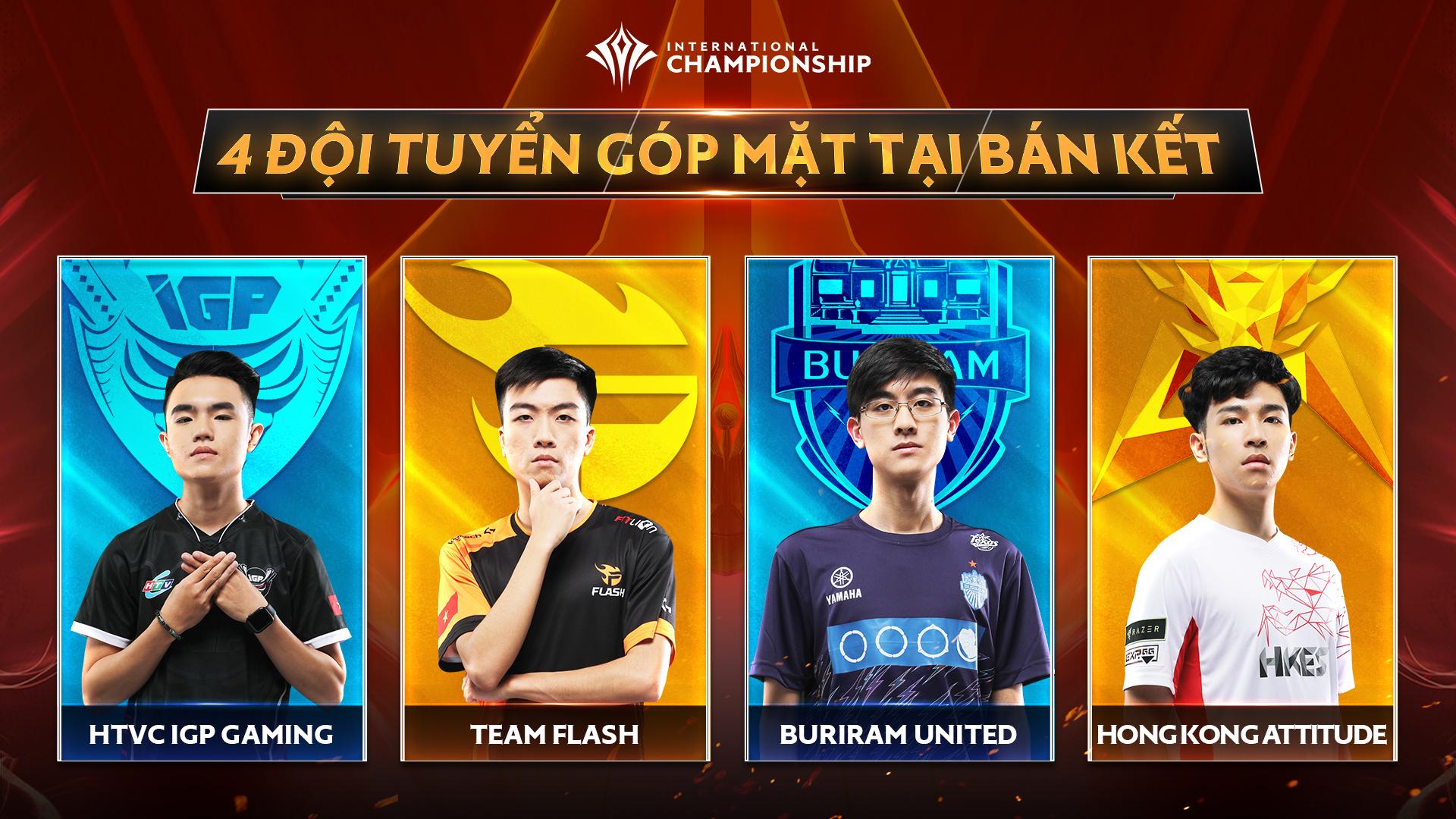Một lần nữa Việt Nam góp mặt tới 2 trên tổng số 4 đội mạnh nhất thế giới