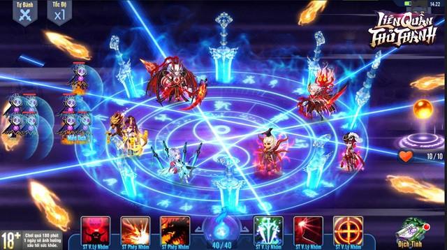 Nhờ đồ họa 2D phong cách Anime, Liên Quân Thủ Thành sở hữu bộ cài cực nhẹ chỉ hơn 200 Megabyte
