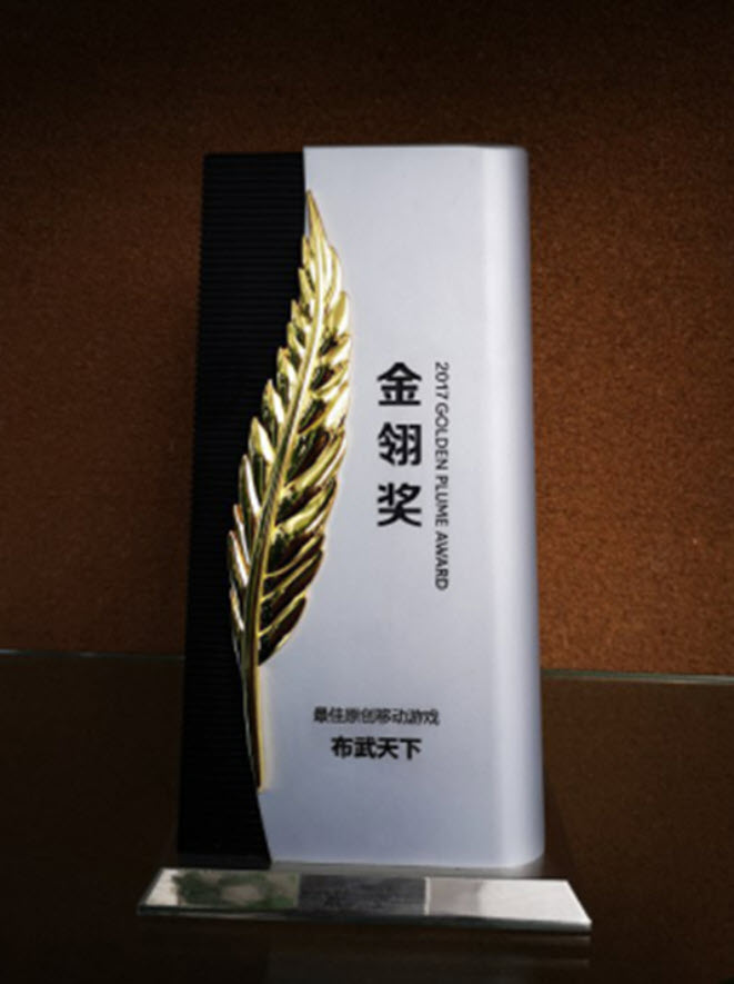 Long Đồ Bá Nghiệp là tựa game chiến thuật (SLG) thời gian thực duy nhất hiện nay đoạt được danh hiệu cao quý này trong lịch sử giải thưởng Kim Vũ