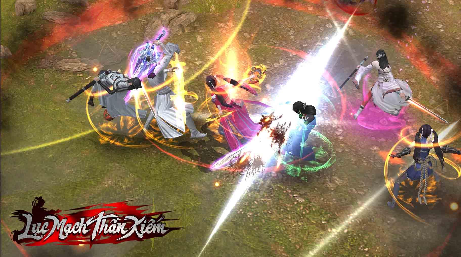 Cảnh PK giữa người chơi với nhau trong game.