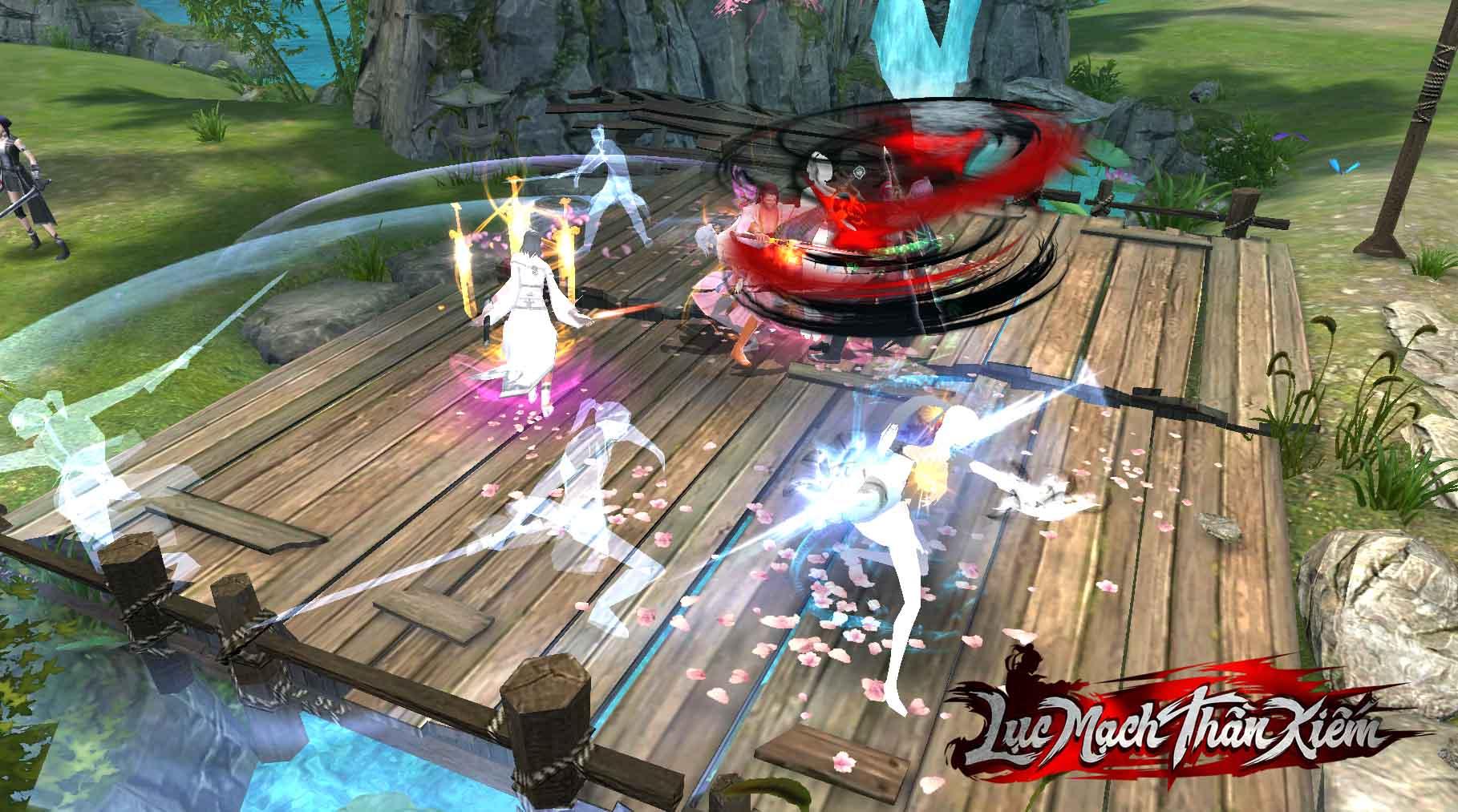 PK đã tay luôn là một điểm mạnh của game Võ Hiệp 3D.