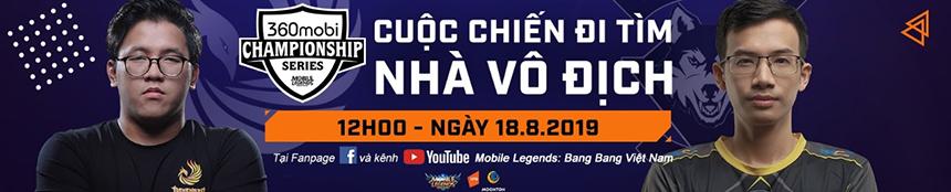 Chung kết Quốc gia chính thức khai hỏa vào 12h00 ngày 18/8 tại Kingdom Next Gen Kỳ Hoà - Quận 10 – Tp.HCM. Ngôi Vô địch Mùa 3 sẽ chính thức được xác định sau thời gian này và mở ra cơ hội thi đấu Quốc tế cho đội tuyển mạnh nhất Mobile Legends: Bang Bang Việt Nam.