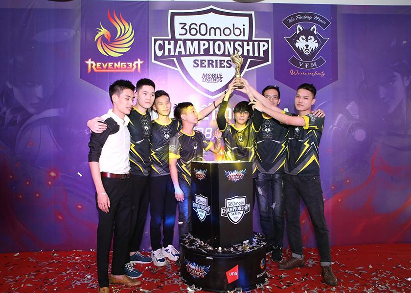 360mobi CHAMPIONSHIP Series Mùa 3 là bước ngoặt mới cho VEC Fantasy Main trong sự nghiệp thi đấu eSports