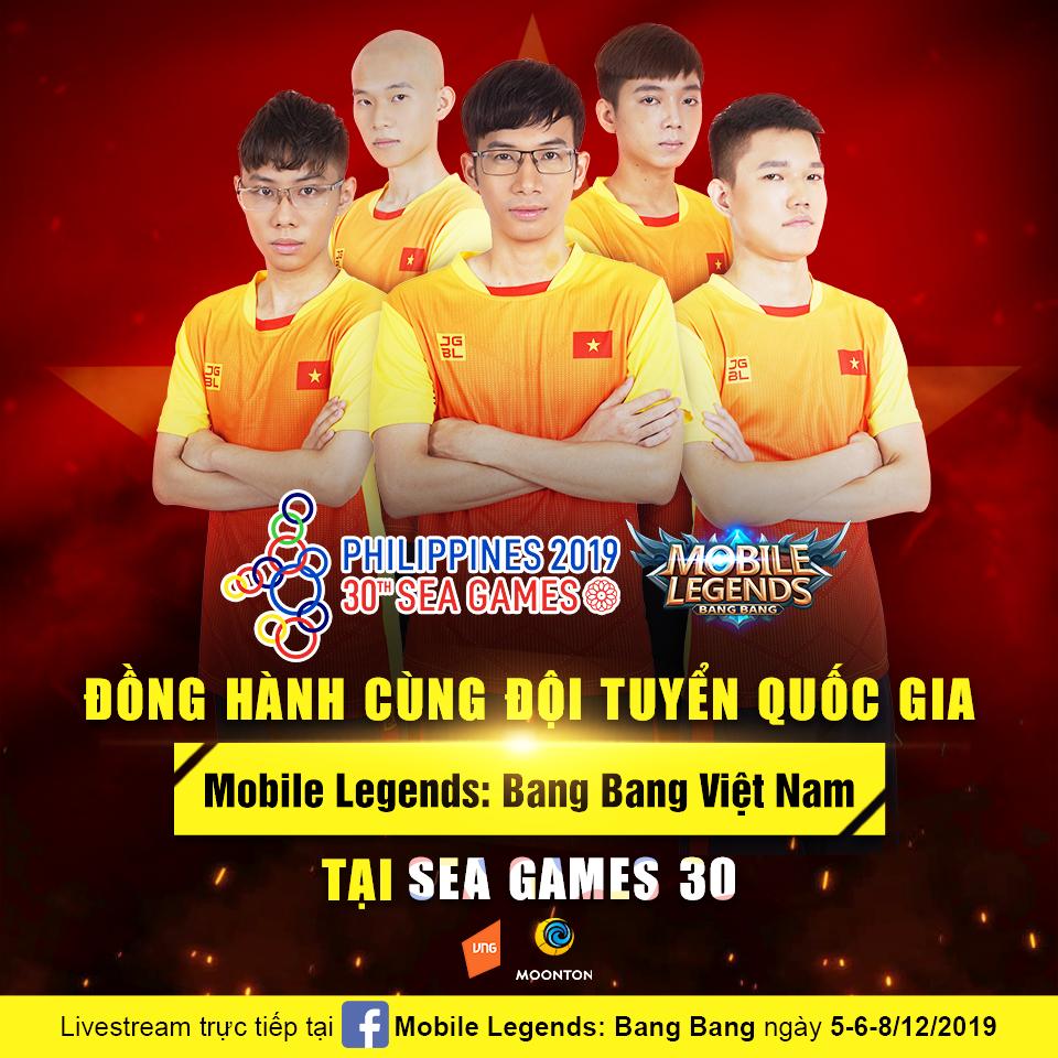 Đội tuyển quốc gia Mobile Legends: Bang Bang Việt Nam với quyết tâm cao nhất vì tinh thần thể thao nước nhà