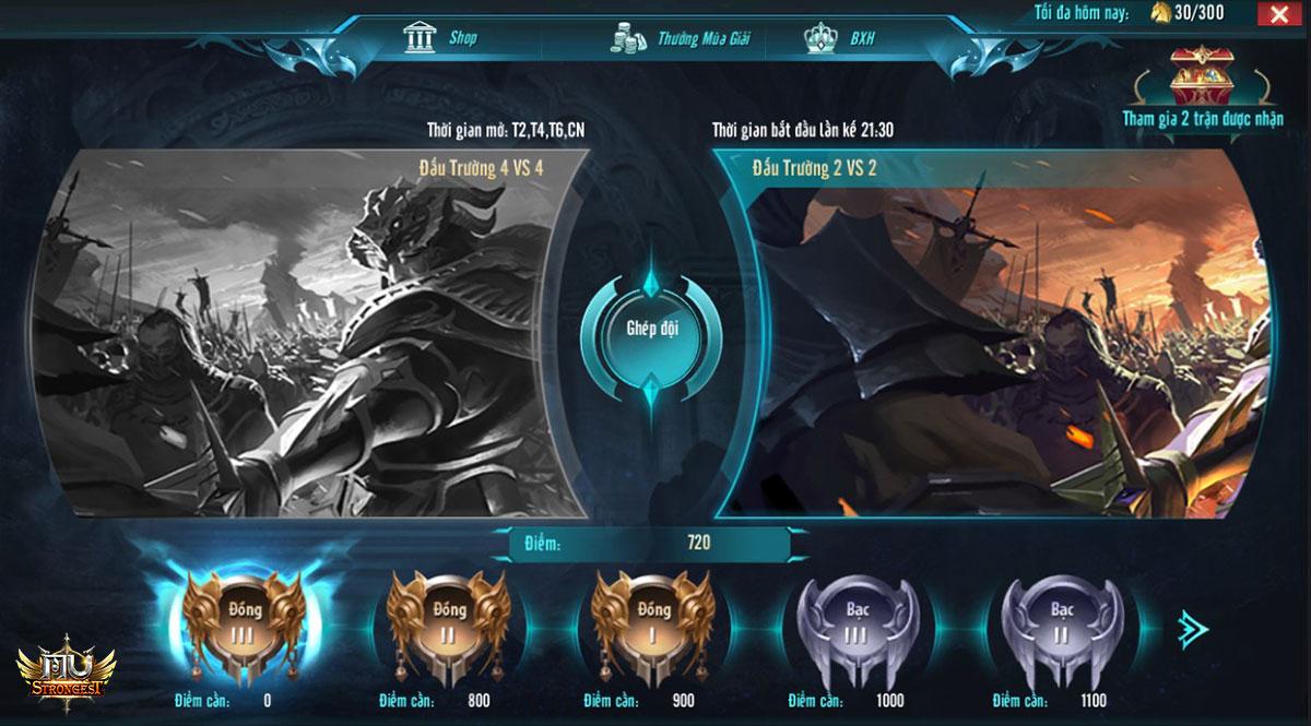 Đấu rank giúp kỹ năng PK của người chơi được nâng cao