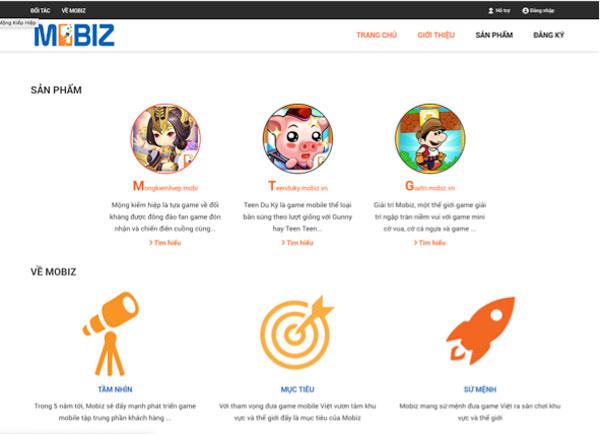 Chân dung nhà phát hành Mobiz