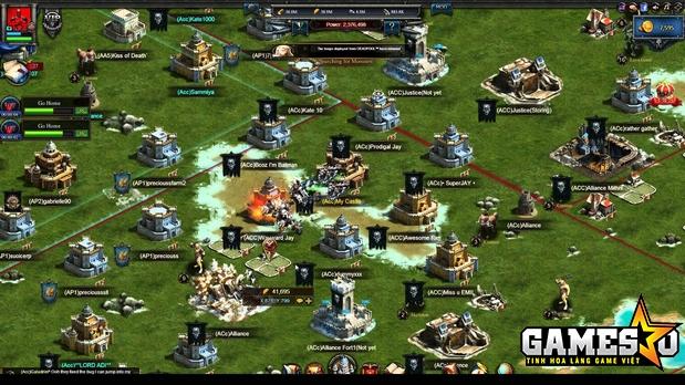 Game chiến thuật ra mắt tràn lan trên thị trường