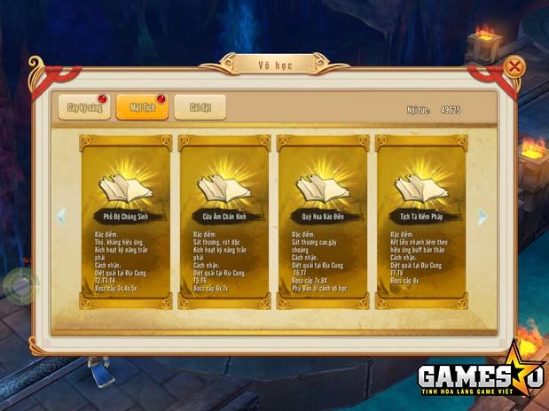 Sáu cuốn Mật Tịch Thất Truyền sẽ là vật phẩm được người chơi Phi Long Tại Thiên khao khát bậc nhất