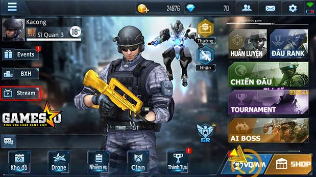 VTC Game đã chính thức tung ra PKM Closed Beta tại thị trường Việt Nam vào ngày 11/01 vừa qua