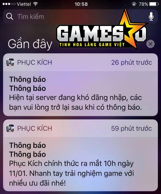 Đại diện NPH VTC Game: Chúng tôi rất tiếc khi để tình trạng nghẽn mạng và ngắt kết nối xảy ra trên Phục Kích Mobile - ảnh 2