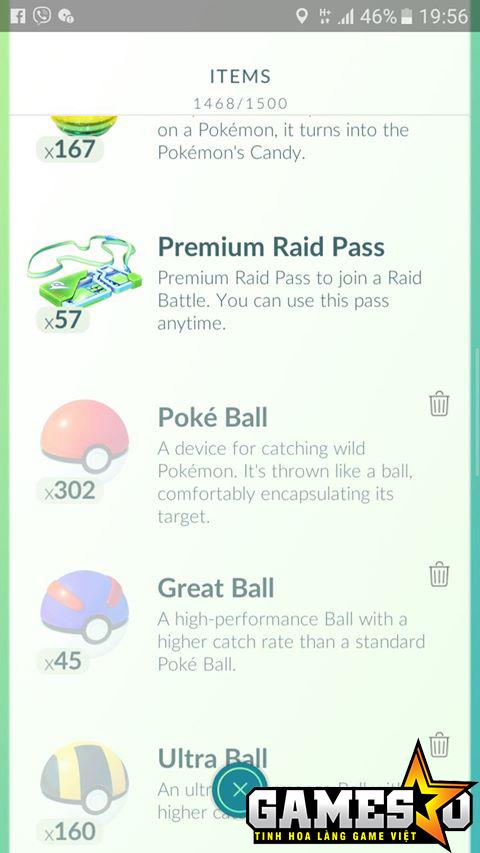 """Những công cụ cần thiết để đi """"săn"""" Pokemon Huyền Thoại"""