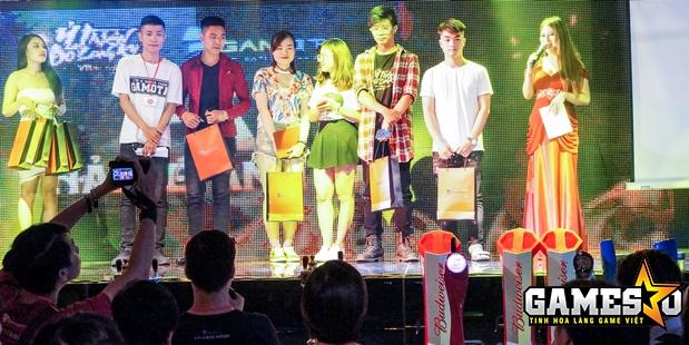 Đội giành giải nhất đã nhận được ba triệu đồng tiền thưởng cùng nhiều GiftCode Ỷ Thiên 3D