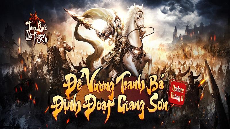 Bản Big Update kỷ niệm 6 tháng ra mắt của Tam Quốc Liệt Truyện đã chính thức ra mắt