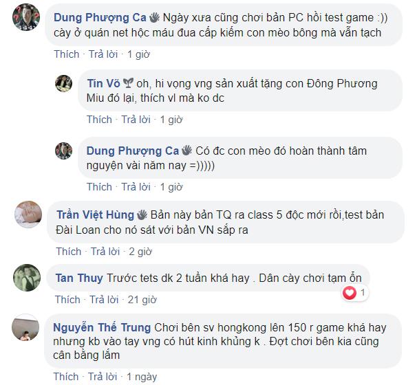 Nhiều game thủ nhiệt tình chia sẻ những kỷ niệm với bản PC, bản địa, đồng thời kỳ vọng bản Việt Nam sẽ khiến họ thỏa lòng