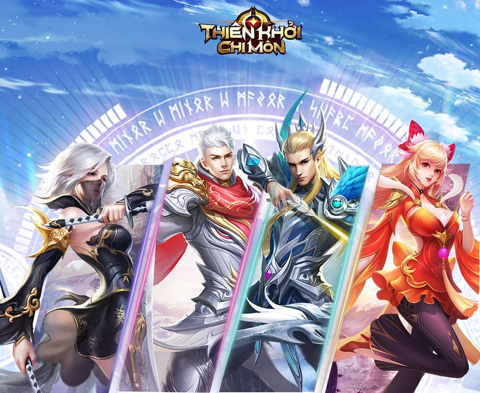 4 class nhân vật trong Thiên Khởi Chi Môn