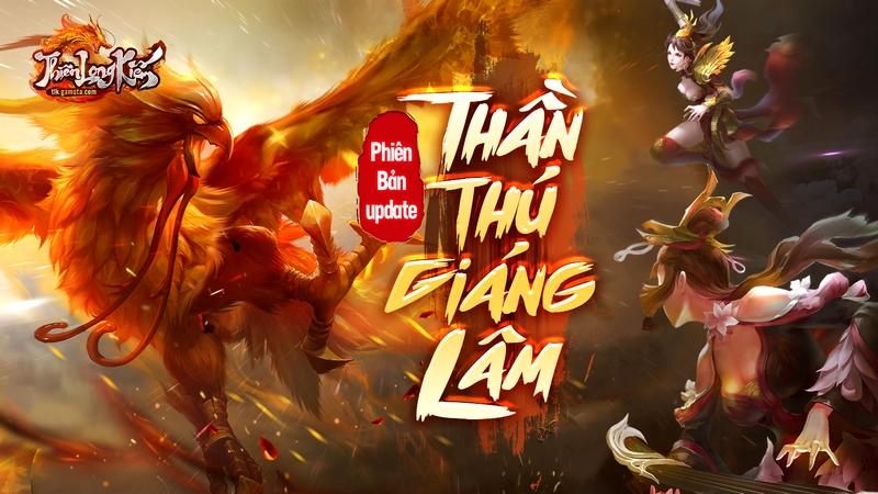 Bản cập nhật mới khai mở giới hạn của Thiên Long Kiếm sẽ đến với smartphone của game thủ vào ngày 9/1