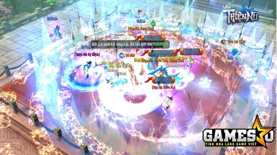 Game thủ phải đồng tâm hiệp lực, phối hợp thi triển chiêu thức nhịp nhàng mới có thể đánh bại những con Boss hung ác, giành lấy thắng lợi