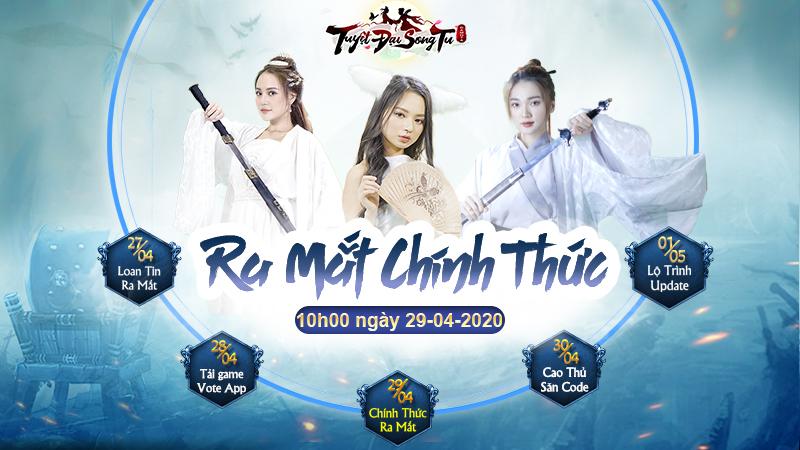 10h00 ngày 29/04 Tuyệt Đại Song Tu chính thức ra mắt.
