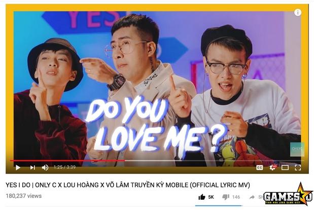 MV lyrics đã thu về hơn 180.000 lượt xem chỉ sau hơn 1 ngày ra mắt