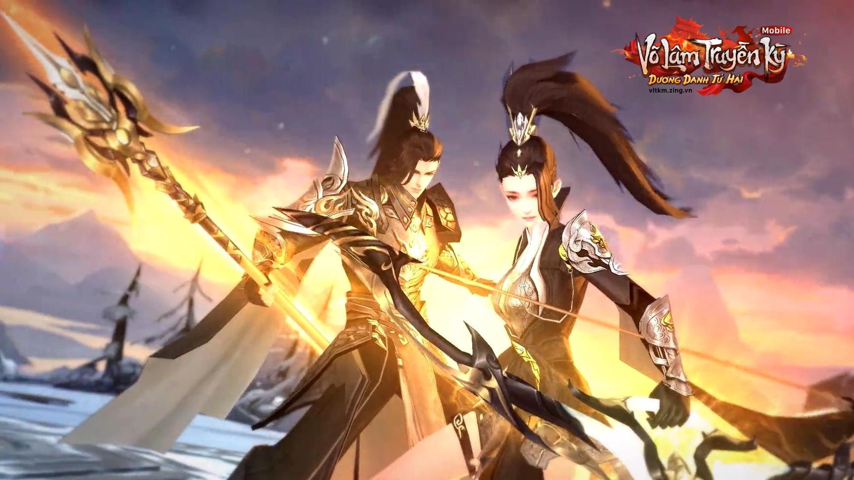 Dương Môn nổi danh với bộ đôi kỹ năng Dương Gia Cung Kỵ và Dương Gia Thương Kỵ điêu luyện