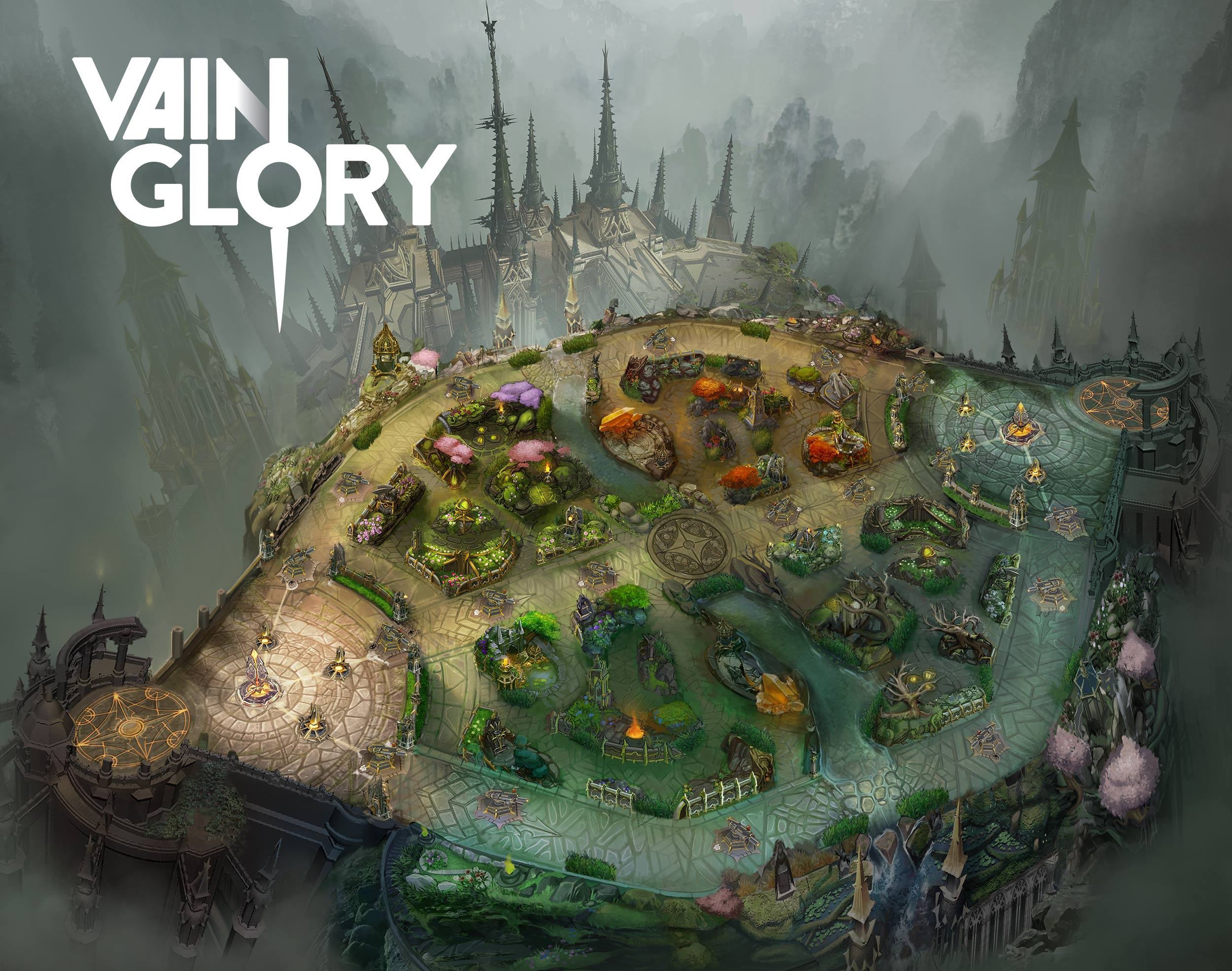 Vainglory 5v5 Map