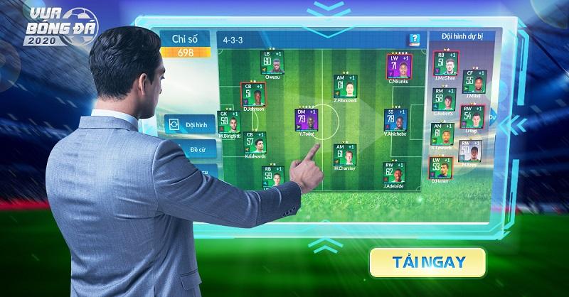 Vua Bóng Đá 2020 - Tựa game quản lí bóng đá số 1 Việt Nam