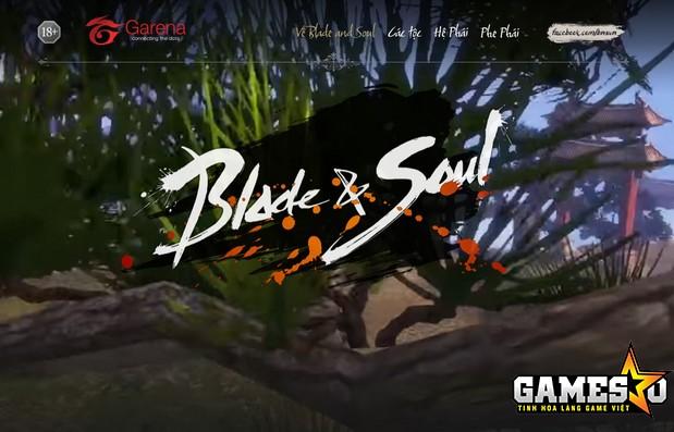Trang chủ Blade and Soul Việt Nam