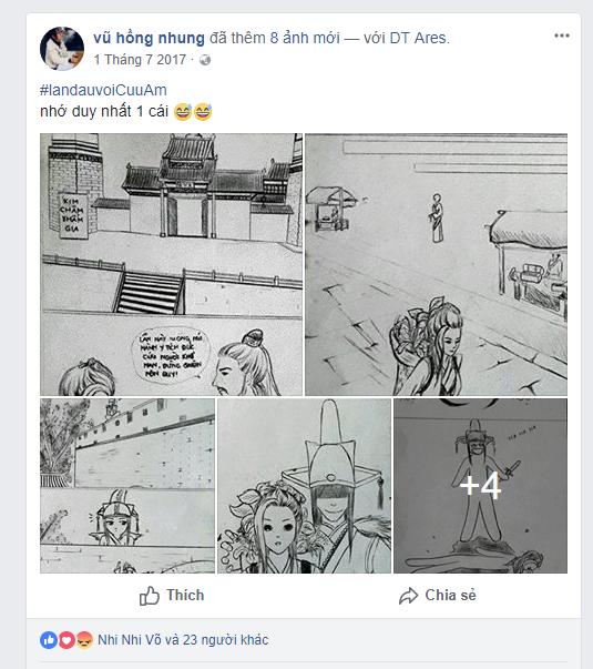 Tài vẽ tranh, photoshop không phải cộng đồng nào cũng có à nha