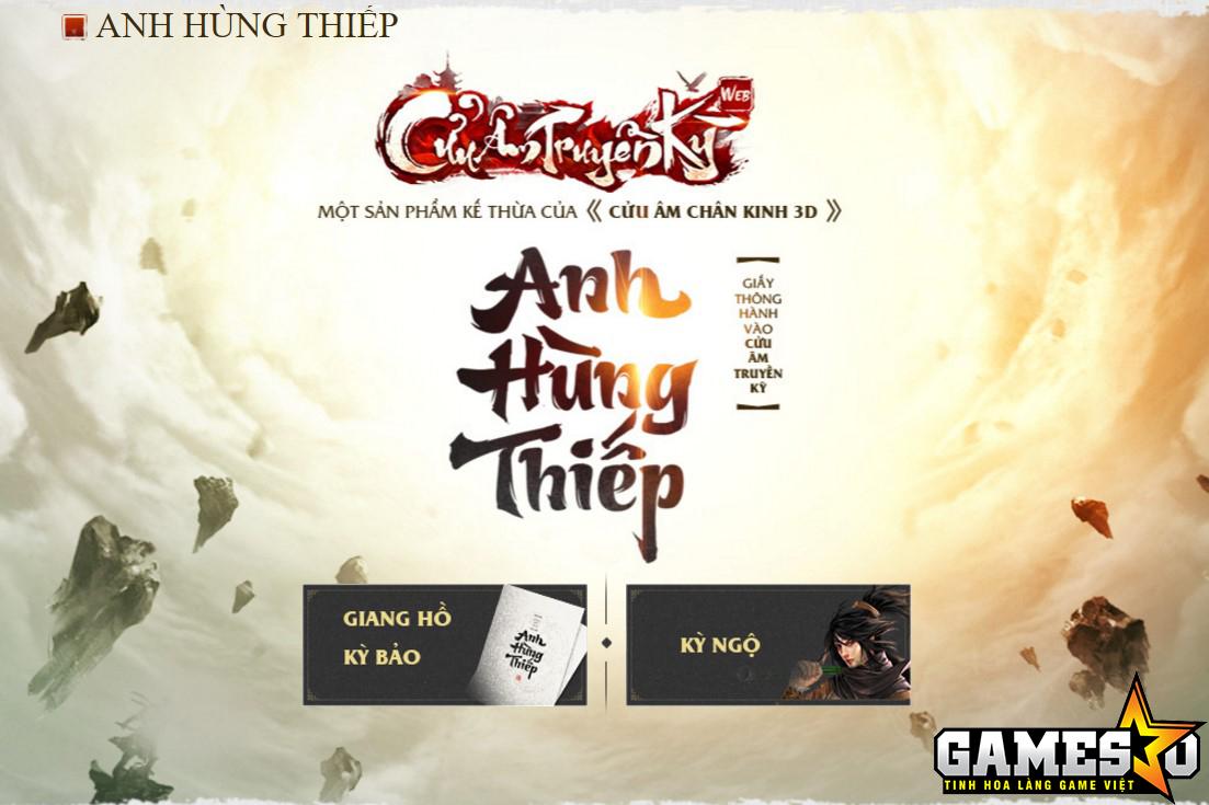Hai cách thức để người chơi có được Anh Hùng Thiếp, điều kiện cần và đủ để tham gia trải nghiệm CATK