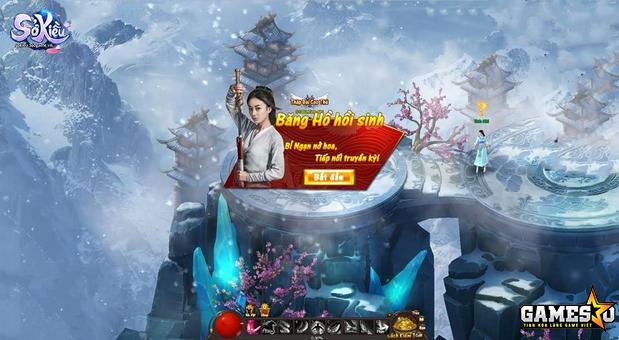 Tạo hình Sở Kiều trong phiên bản game