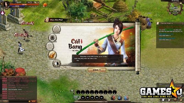 Giới thiệu nhanh về môn phái Cái Bang trong CATK