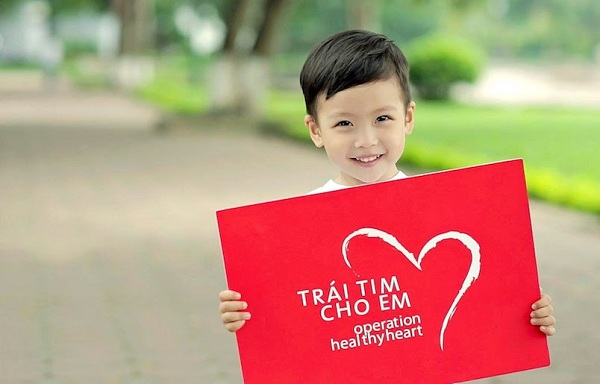Hãy chung tay giúp đỡ những trái tim bé bỏng